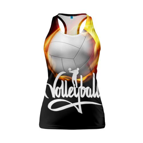 Женская майка 3D спортивная Волейбол 28
