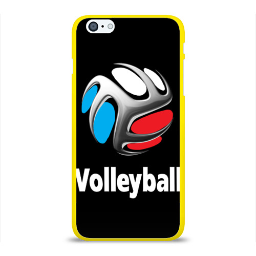 Чехол для Apple iPhone 6Plus/6SPlus силиконовый глянцевый  Фото 01, Волейбол 29
