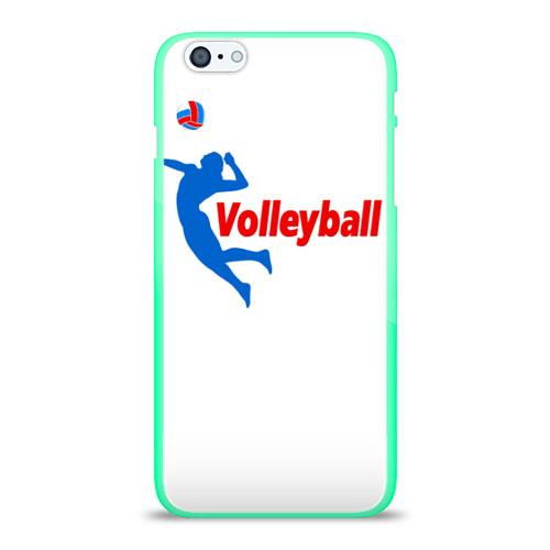 Чехол для Apple iPhone 6Plus/6SPlus силиконовый глянцевый  Фото 01, Волейбол 31