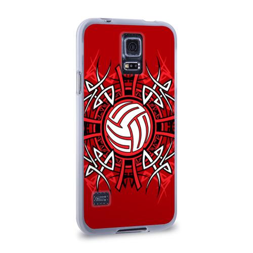 Чехол для Samsung Galaxy S5 силиконовый  Фото 02, Волейбол 34