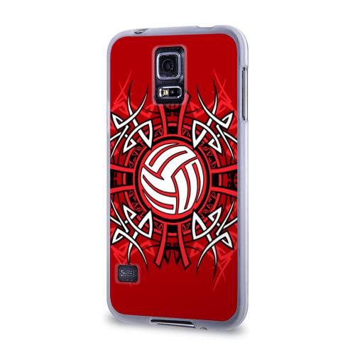 Чехол для Samsung Galaxy S5 силиконовый  Фото 03, Волейбол 34