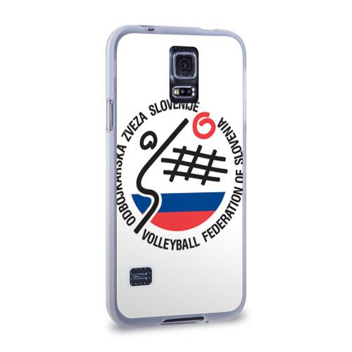 Чехол для Samsung Galaxy S5 силиконовый  Фото 02, Волейбол 43