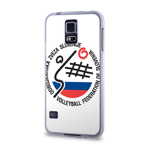 Чехол для Samsung Galaxy S5 силиконовый  Фото 03, Волейбол 43