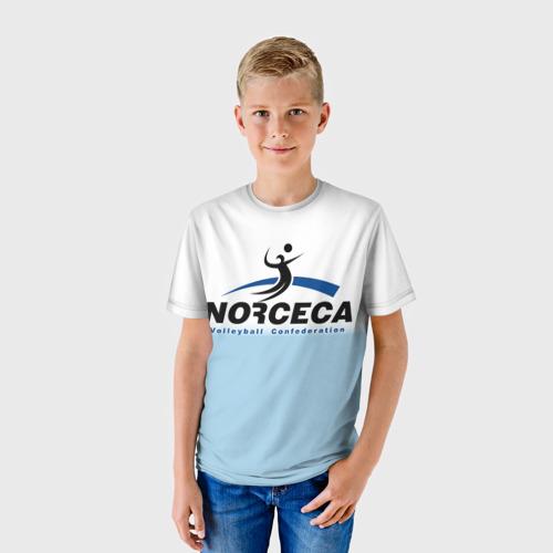 Детская футболка 3D  Фото 01, Волейбол 46
