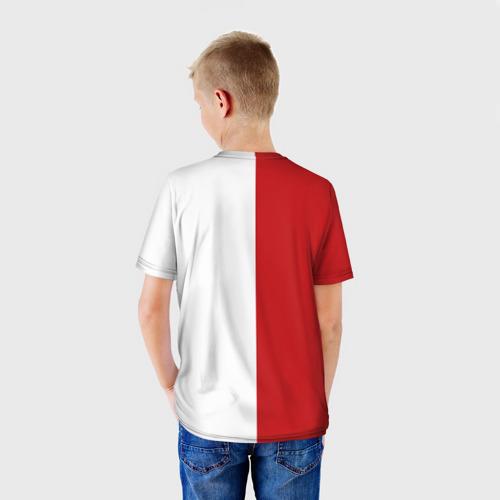 Детская футболка 3D Волейбол 53
