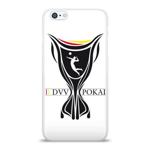 Чехол для Apple iPhone 6Plus/6SPlus силиконовый глянцевый  Фото 01, Волейбол 61