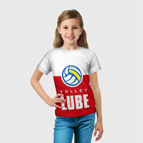 Детская футболка 3D  Фото 03, Волейбол 62