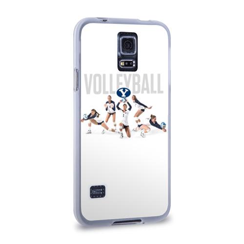 Чехол для Samsung Galaxy S5 силиконовый  Фото 02, Волейбол 64