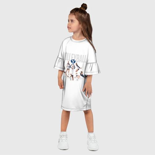 Детское платье 3D  Фото 03, Волейбол 64