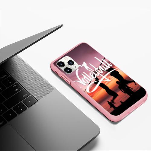 Чехол для iPhone 11 Pro Max матовый Волейбол 65 Фото 01