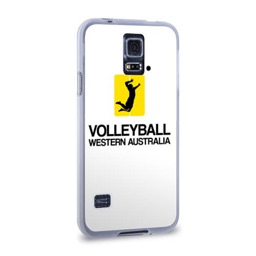 Чехол для Samsung Galaxy S5 силиконовый  Фото 02, Волейбол 66