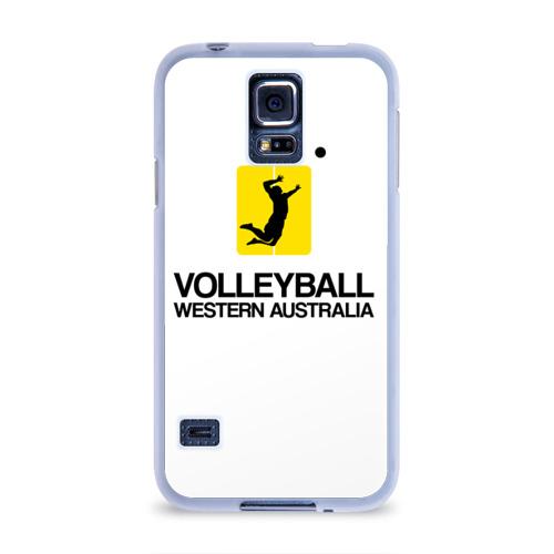 Чехол для Samsung Galaxy S5 силиконовый  Фото 01, Волейбол 66