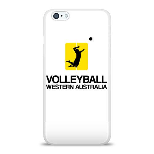 Чехол для Apple iPhone 6Plus/6SPlus силиконовый глянцевый  Фото 01, Волейбол 66