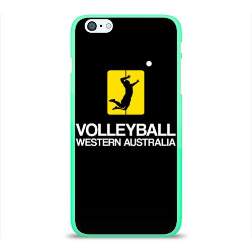 Чехол для Apple iPhone 6Plus/6SPlus силиконовый глянцевый  Фото 01, Волейбол 67