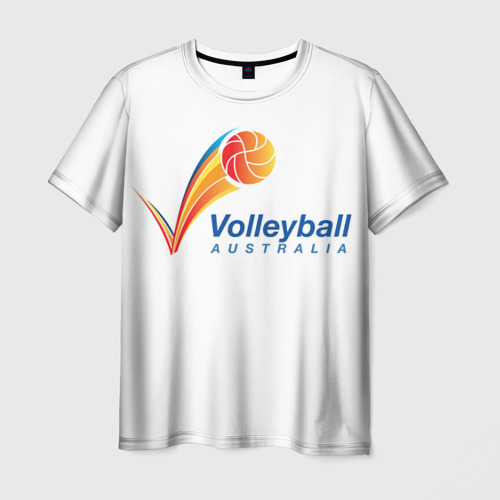 Мужская футболка 3D  Фото 03, Волейбол 72