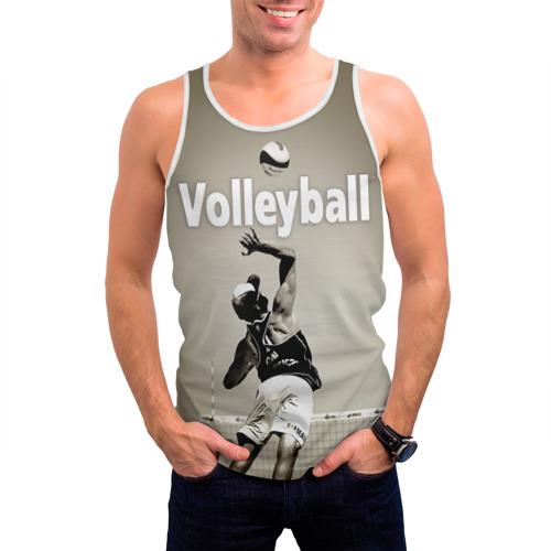 Мужская майка 3D  Фото 03, Волейбол 78