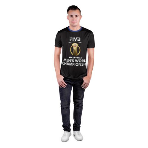 Мужская футболка 3D спортивная  Фото 04, Волейбол 93