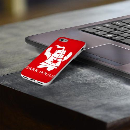 Чехол для Apple iPhone 8 силиконовый глянцевый  Фото 03, Dark Souls 1