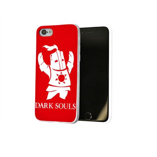 Чехол для Apple iPhone 8 силиконовый глянцевый  Фото 02, Dark Souls 1