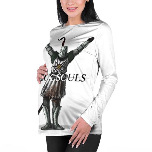 Женский лонгслив 3D для беременных Dark Souls 14 Фото 01