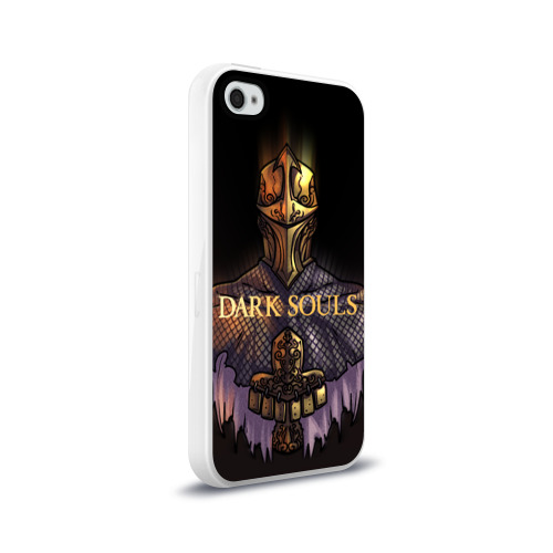 Чехол для Apple iPhone 4/4S силиконовый глянцевый Dark Souls 29 Фото 01