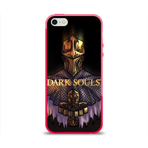Чехол для Apple iPhone 5/5S силиконовый глянцевый Dark Souls 29 Фото 01