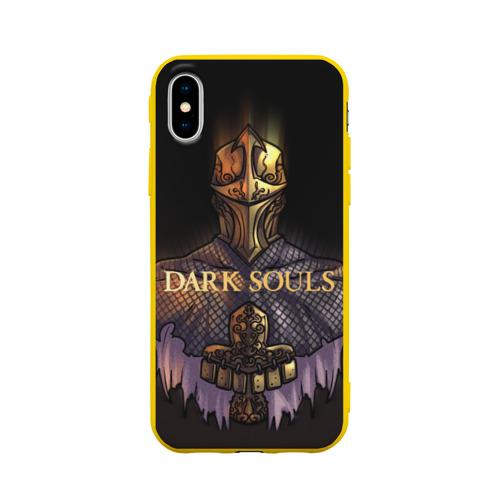 Чехол для Apple iPhone X силиконовый матовый Dark Souls 29 Фото 01