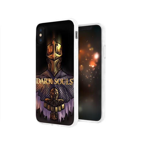 Чехол для Apple iPhone X силиконовый глянцевый Dark Souls 29 Фото 01