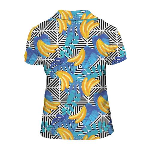 Женская рубашка поло 3D  Фото 02, Banana pattern