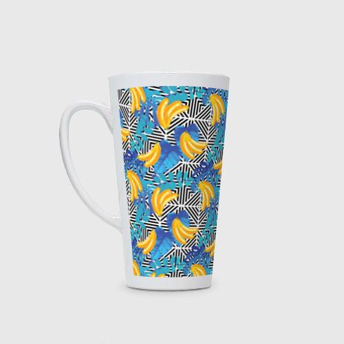 Кружка Латте  Фото 01, Banana pattern