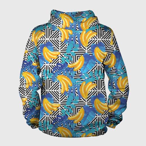 Мужская ветровка 3D  Фото 02, Banana pattern