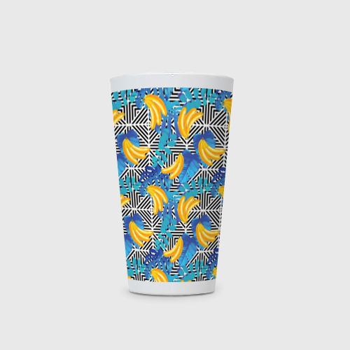Кружка Латте  Фото 03, Banana pattern