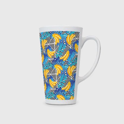 Кружка Латте  Фото 02, Banana pattern