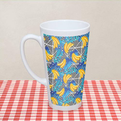 Кружка Латте  Фото 04, Banana pattern