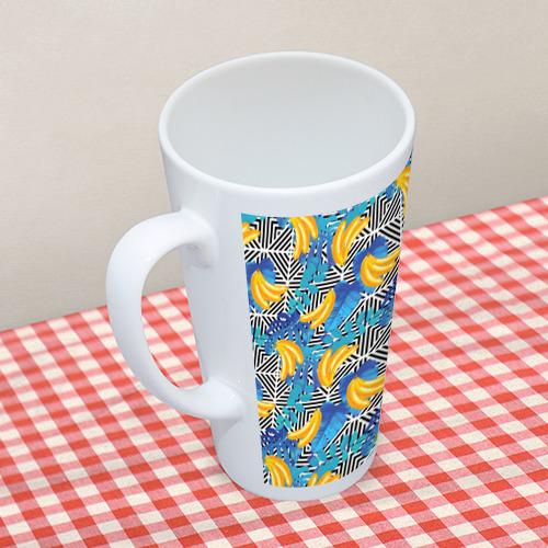 Кружка Латте  Фото 05, Banana pattern