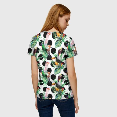 Женская футболка 3D Birds Фото 01