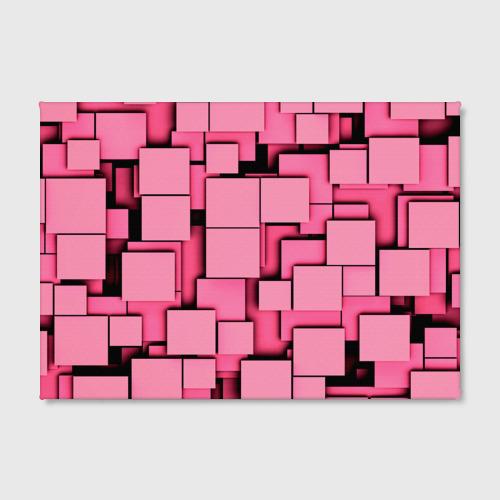 Холст прямоугольный  Фото 02, Кубики