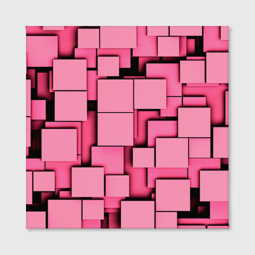 Холст квадратный  Фото 02, Кубики