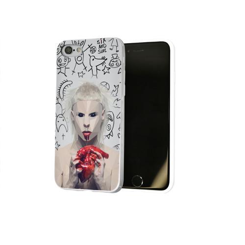 Чехол для Apple iPhone 8 силиконовый глянцевый  Фото 02, Die Antwoord