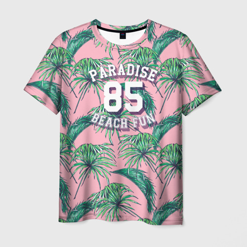 Мужская футболка 3D  Фото 03, Paradise