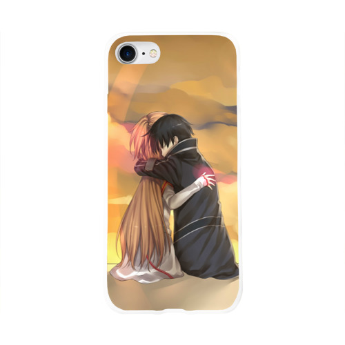 Чехол для Apple iPhone 8 силиконовый глянцевый  Фото 01, Hug