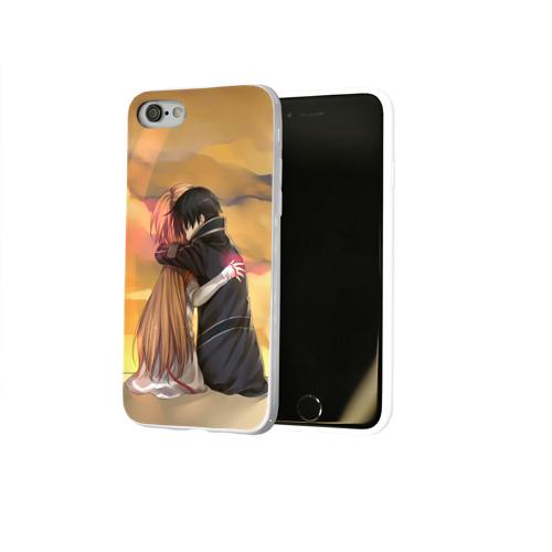 Чехол для Apple iPhone 8 силиконовый глянцевый  Фото 02, Hug