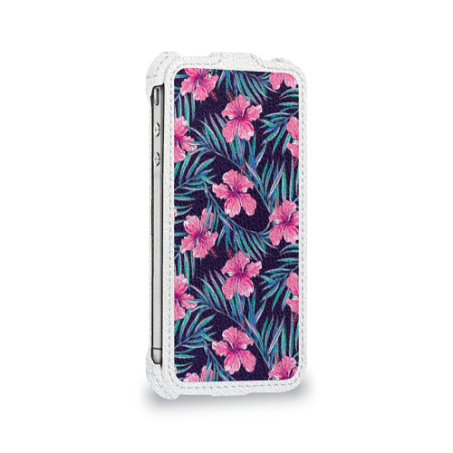 Чехол для Apple iPhone 4/4S flip  Фото 05, Flowers