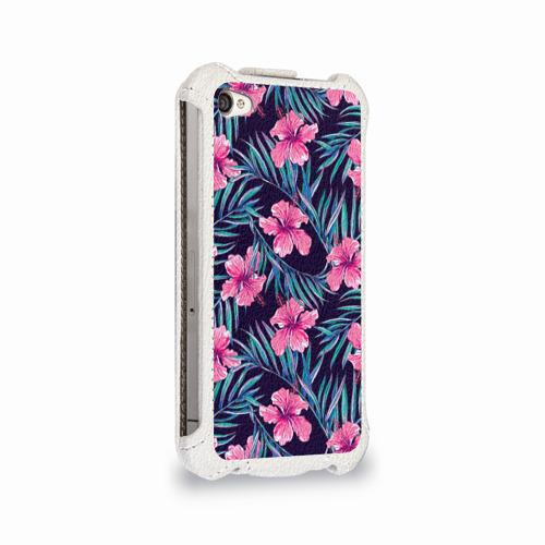 Чехол для Apple iPhone 4/4S flip  Фото 02, Flowers