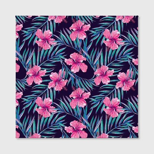 Холст квадратный  Фото 02, Flowers