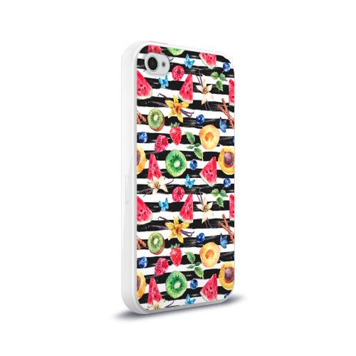 Чехол для Apple iPhone 4/4S силиконовый глянцевый  Фото 02, Лето