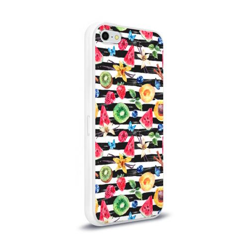 Чехол для Apple iPhone 5/5S силиконовый глянцевый  Фото 02, Лето