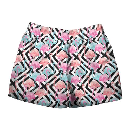 Женские шорты 3D  Фото 02, Flamingo
