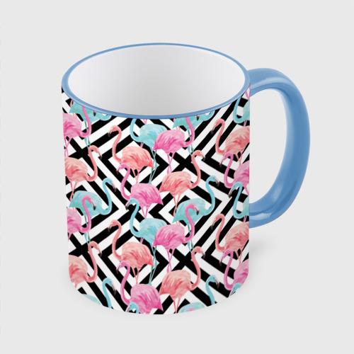 Кружка с полной запечаткой Flamingo