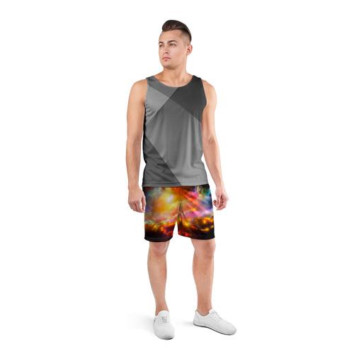 Мужские шорты 3D спортивные  Фото 04, Абстракция